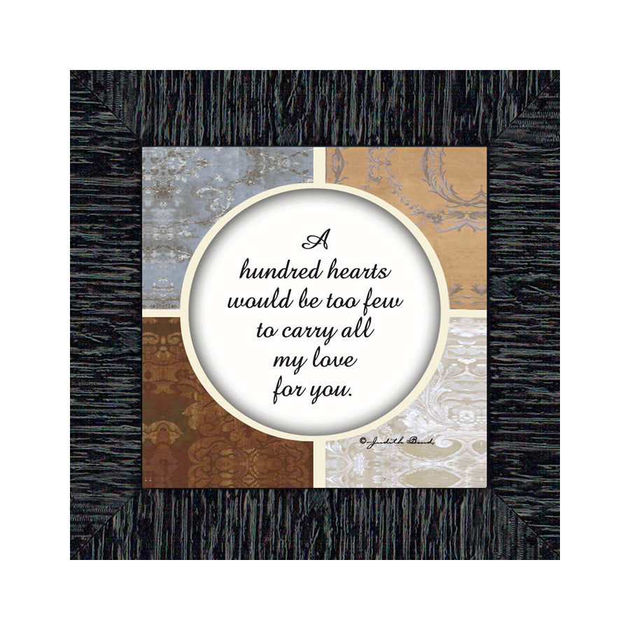 I'm in Love with You, Gift for Husband, Wife, Fiancee'. I Love You Picture Frame, 6x6 75520