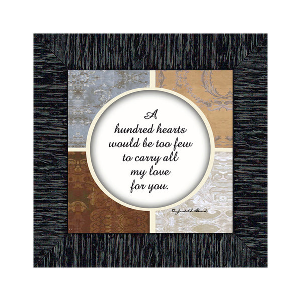 Love You, In Love With You Picture Frame, Love You Frames, 6x6 75520