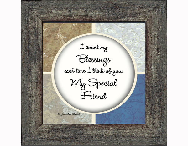 A Friend Like You, Friendship Gifts, Picture Frame for Best Friend, 4x4, 75548