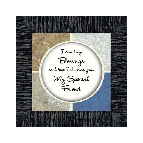 My Special Friend, Friend Picture Frame, Gift For Friends, 6x6 75548