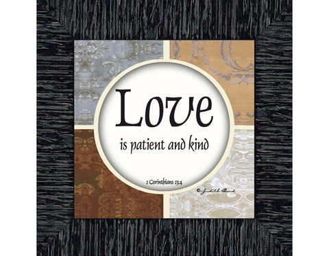 Love, Love Art, Verse Wall Art, 6x6 75563