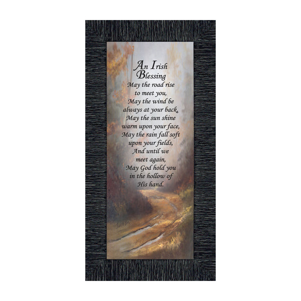 An Irish Blessing, Prayer for blessing on a loved one, 6x12 7786