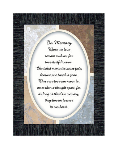 In Memory,In Memory, For Loss of Loved One, Sympathy Gifts, 7x9 77932