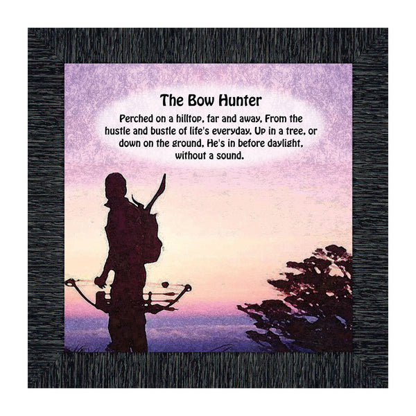Bow Hunters Picture Frame