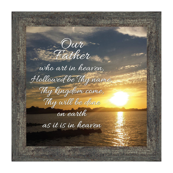 The Lords Prayer Picture Frame
