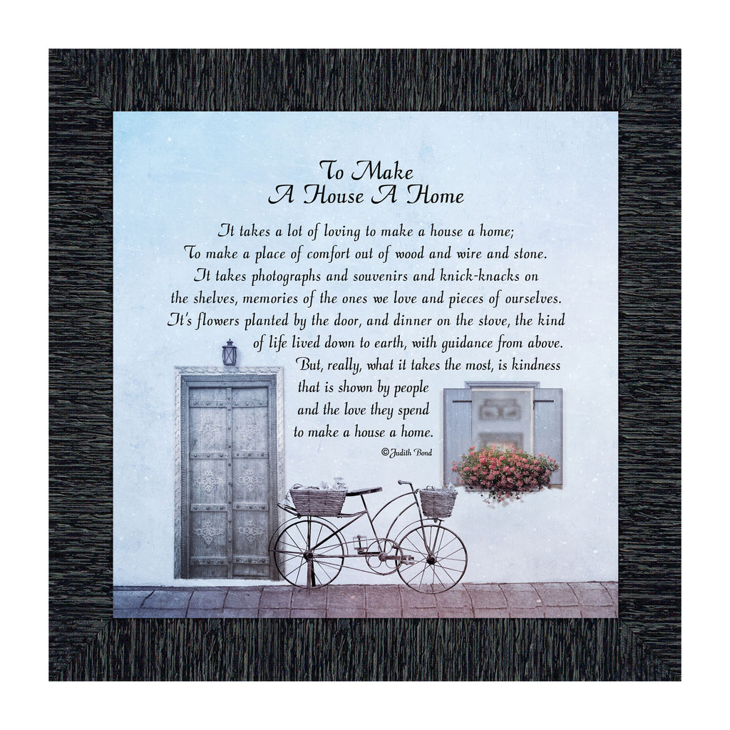 Make a House a Home, Home Blessing for the Home, 10x10 8632