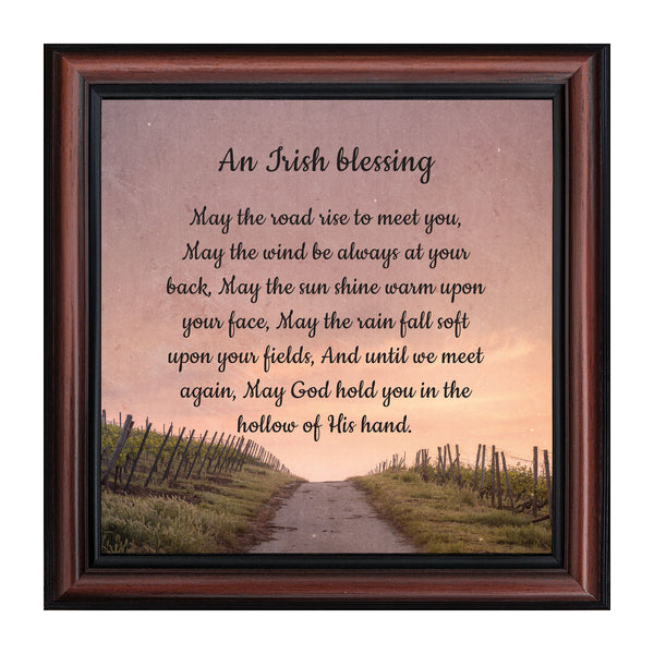 An Irish Blessing Irish Blessing Picture Frame May The