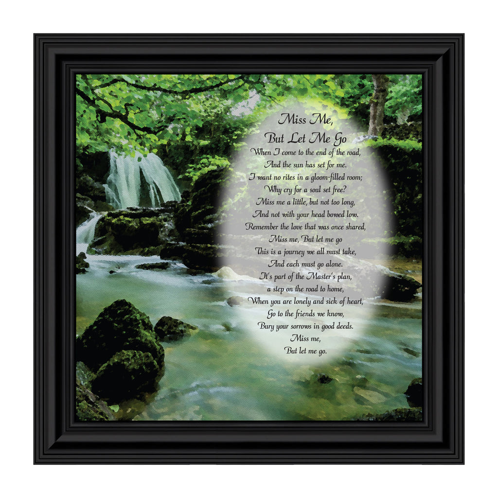 Elegantly Yours Miss Me But Let Me Go Picture Frame, in Remembrance Gifts, 10x10 8652