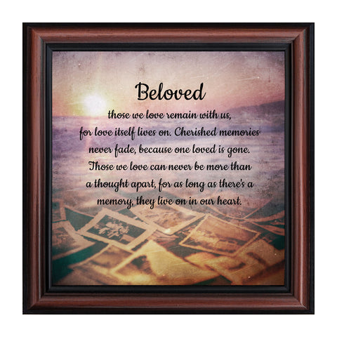 Elegantly Yours Beloved, in Memory of Loved One, 10x10 8676