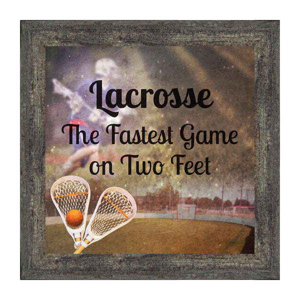 Lacrosse, Team Photo, Player or Coach Picture Frame, 10x10 8701