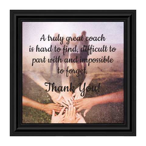 Coach, Thank You Gift, Team Picture Frame, 10x10 8703