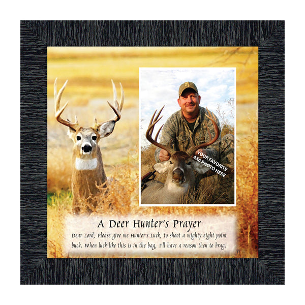 A Deer Hunter's Prayer, Personalized Picture framed Hunting Picture, 10X10 9707