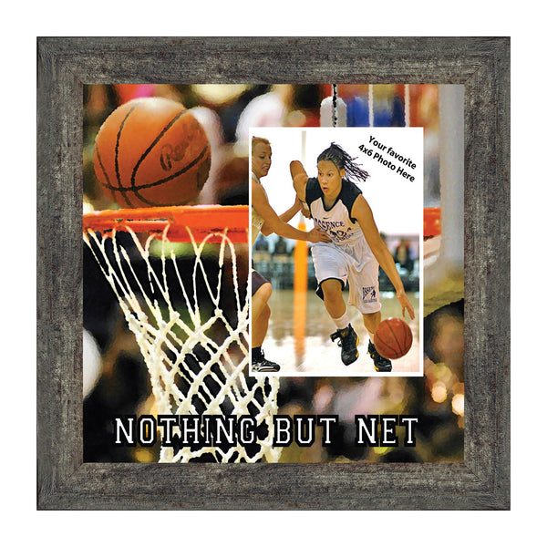 Basketball Personalized Picture frame, Gifts for Coaches Basketball, 10X10 9712