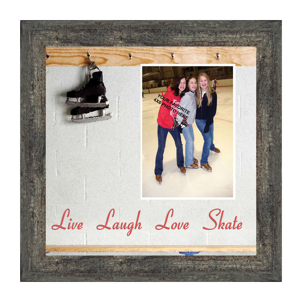 Figure Skating Picture Frame, Ice Dancer or Skater Decor Wall Art,10X10 9720