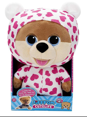 "Jiffpom Cutelife Pajama Party Edition JiffPom CuteLife Plushies 10"" tall"