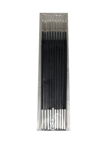 Set of 50 Long Stem, Fine Tip Brushes