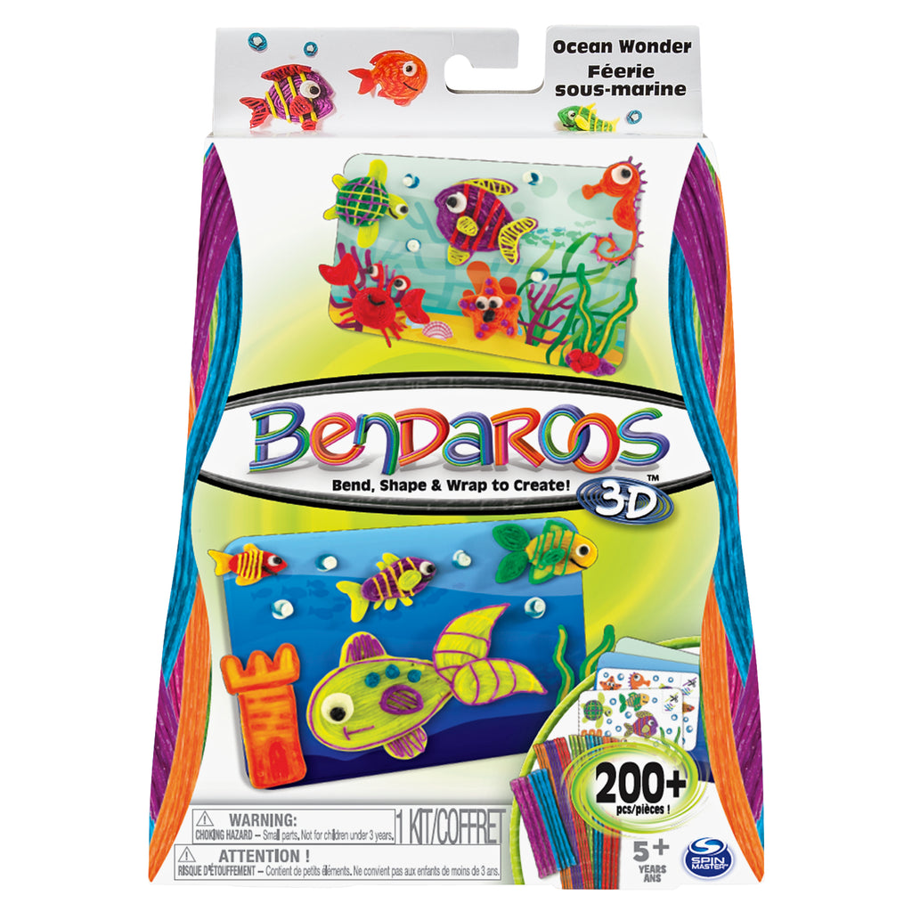 Bendaroos 3D Ocean Wonder Kit 1 pack (400 pcs total) Ages 5+
