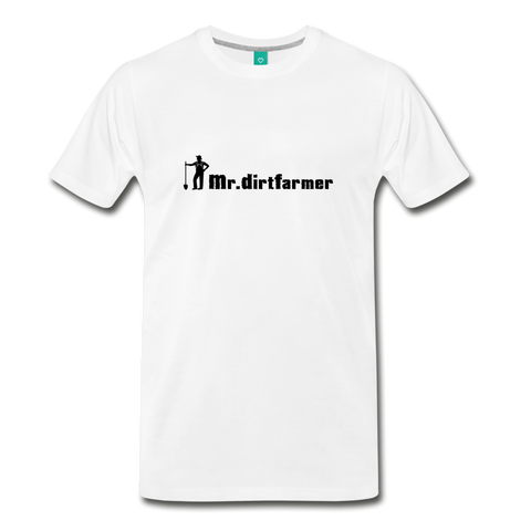 Mr. Dirtfarmer Men's Premium T-Shirt - Mr. Dirtfarmer