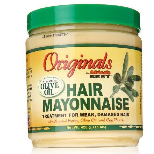 Africa's Best Organics Hair Mayonnaise, 15 oz - Mee-Mii