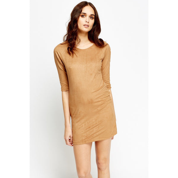 3/4 Sleeve Mini Dress - Mee-Mii
