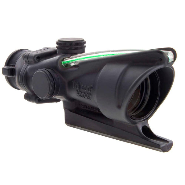 Trijicon ACOG 4x32 Scope, Green Dual Illumination Doughnut Reticle BAC – M16 / AR15