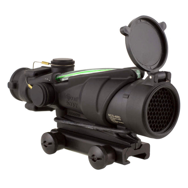 Trijicon Acog 4x32, Army Combat Optic For The M150 With Green Illumination And Ta51 Mount Optic