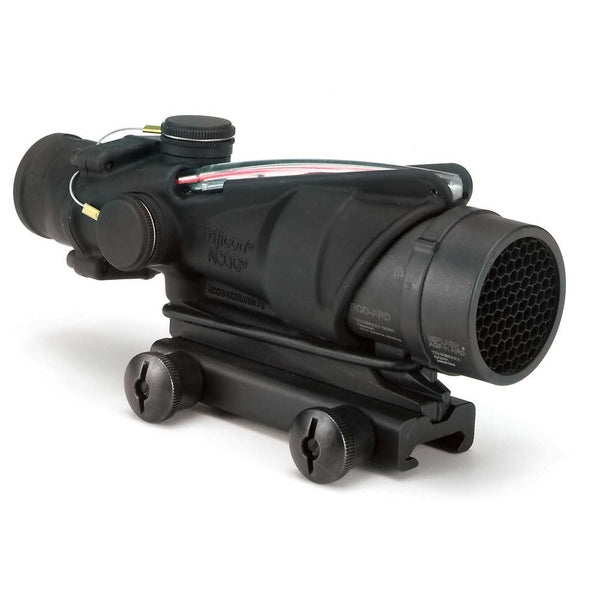 Trijicon ACOG 4x32 BAC RCO Scope, Red Chevron Reticle for the USMC's M4 and M4A1 with Thumbscrew Mount