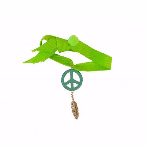 Bag Charm Peace/Green