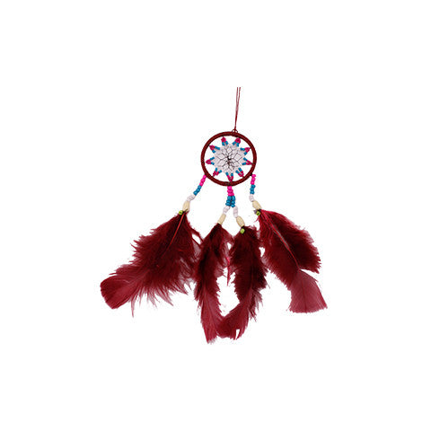 Bordeaux Red Big Dreamcatcher