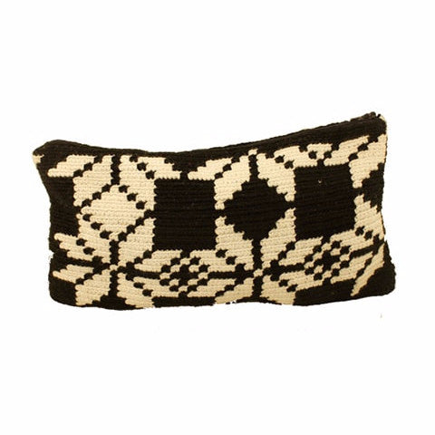 Black & White Cocoyana Wayuu Clutches