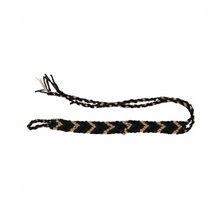 Black & White Shades Wayuu Anklet