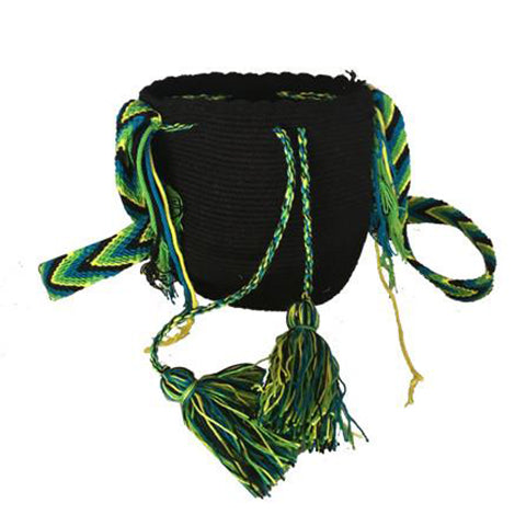 Mini Mochila Black & Green