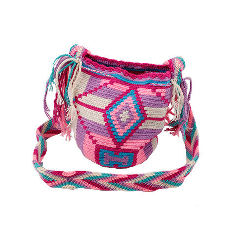 Pink & Purple Mini Wayuu Mochila
