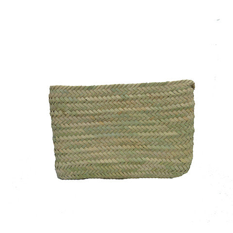 Plain Palmleaf Clutch