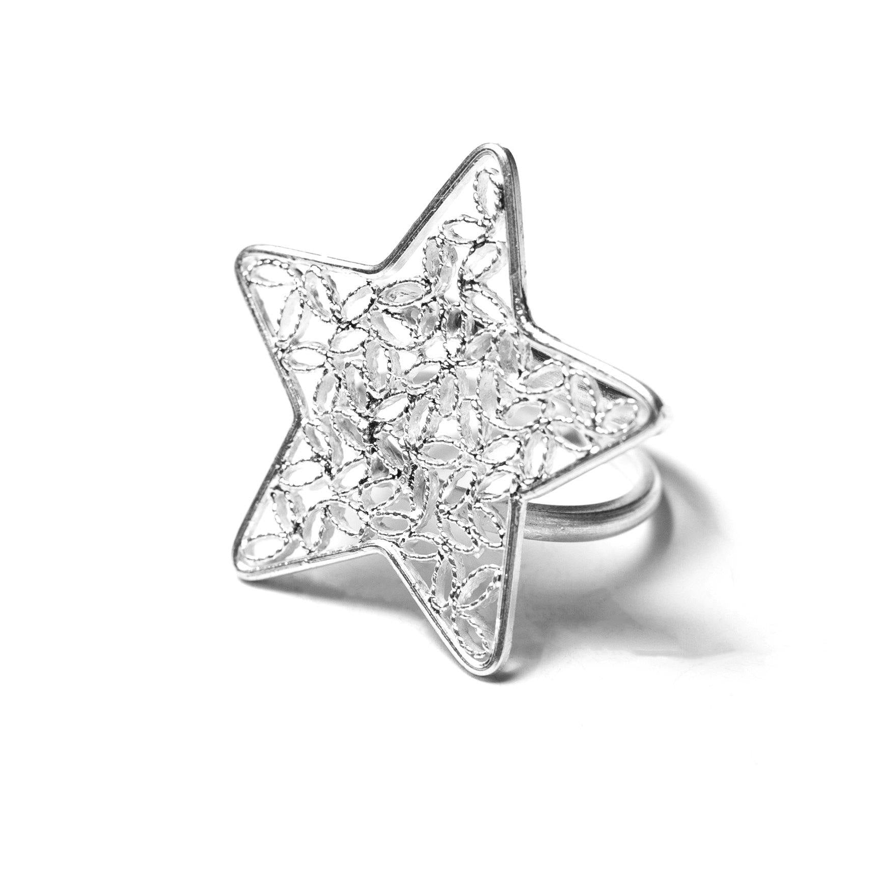 Big Star Filigree Ring - UMI Handmade
