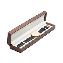 Golden Case / White Dial / Brandy Leather