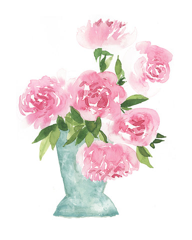 Peonies for Days Print - 8.5x11