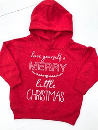 Toddler Hoodie Have Yourself A Merry Little Christmas - Glittering South