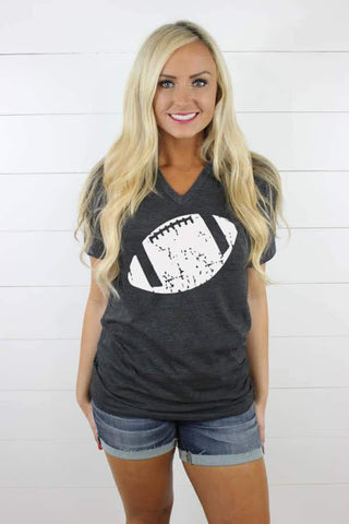 Football V Neck - Glittering South