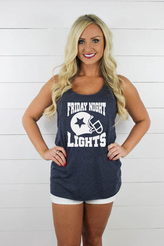Friday Night Lights Tank - Glittering South