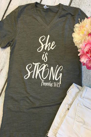 She Is Strong - Glittering South