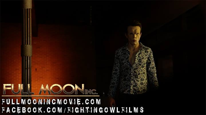 "'Skeeter' the vampire promo: Makeup application by Acrotomic Studios for Fighting Owl Films' ""Full Moon, Inc."""