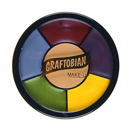 Graftobian Trauma SFX Creme Color Wheel