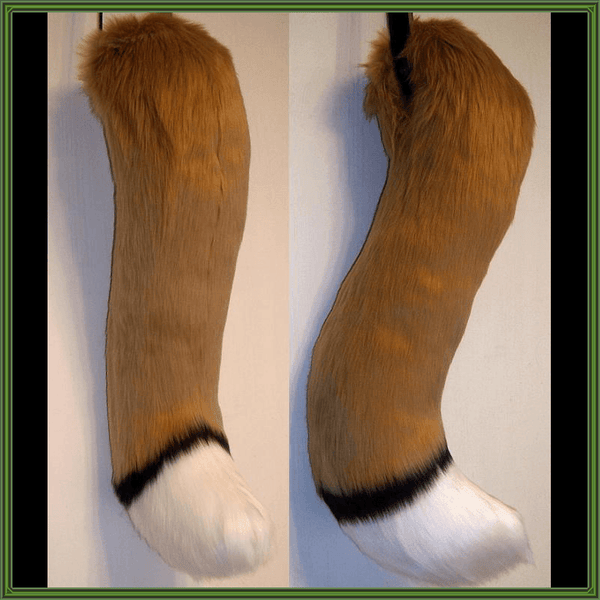 Custom-Color Canine Tail