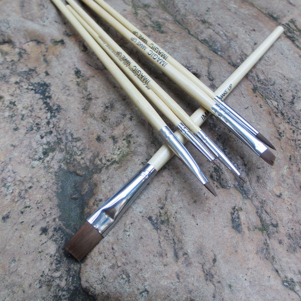6Pc Makeup Brush Set