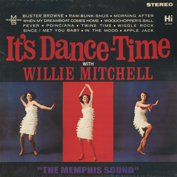 Willie Mitchell | It's Dance-Time With Willie Mitchell (New)