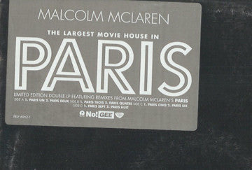 Malcolm McLaren | The Largest Movie House In Paris