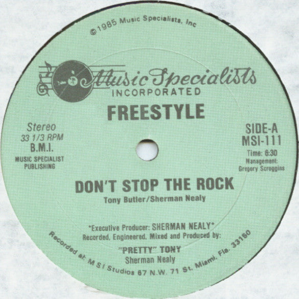 Freestyle | Don't Stop The Rock
