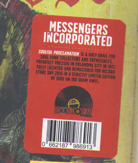 Messengers Incorporated | Soulful Proclamation