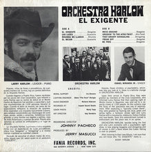 Load image into Gallery viewer, Orchestra Harlow | El Exigente (New)